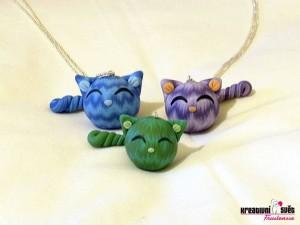 Tři čubaky - Polymerová kočička