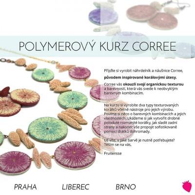 Polymerový kurz Corree s Fruitensse